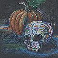 Rachel Lucas - Skull Candy and Pumpkin