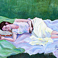 Janet Felts - Sleeping Girl