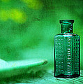 Rebecca Sherman - Small Green Poison Bottle