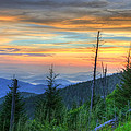 Mark Bowmer - Smoky Mountain Sunset