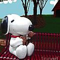 Katherine Williams - Snoopy and Cookies