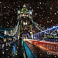 Donald Davis - Snow Storm Tower Bridge