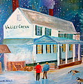 Marita McVeigh - Snowfall ValleyGreen