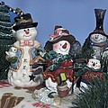 Thomas Woolworth - Snowmen Buddies 04