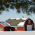 Gary Gingrich Galleries - Snowy Barn-0087