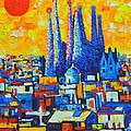 Ana Maria Edulescu - Spain - Barcelona Sunset...