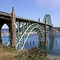Christiane Schulze Art And Photography - Spanning The Yaquina Bay
