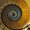 David Davies - Spiral staircase in...