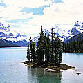 Stephen Stookey - Spirit Island on Maligne...