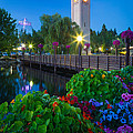 Inge Johnsson - Spokane Clocktower by...