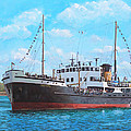 Martin Davey - SS Shieldhall on a...