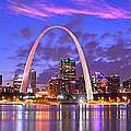 Jon Holiday - St. Louis Skyline at...