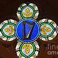 Luther   Fine Art - Stained Glass Harp