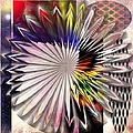 Liane Wright - Star Petal Abstract