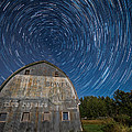 Paul Freidlund - Star Trails Over Barn