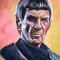 Martha Suhocke - Star Trek Old Spock
