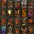 Mike Savad - Steampunk - Alphabet -...
