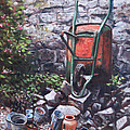 Martin Davey - Still life wheelbarrow...