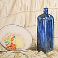Alan Hogan - Still-life with blue...
