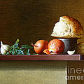 Stanislav Plonish - Still-life with bread...