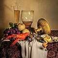 Levin Rodriguez - Still Life with Gilded...
