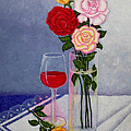 Madalena Lobao-Tello - Still life with roses