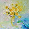 Demeter Gui - Still life with yellow...