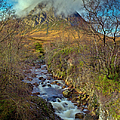 Gary Eason - Stream below Buachaille...