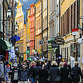 David Hill - Street in Gamla Stan -...