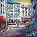 Cristina Stefan - Street in Old Montreal