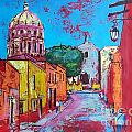 Cristiana Marinescu - Street of Mexican town...