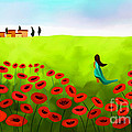 Anita Lewis - Strolling Among The Red...