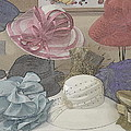 Kathy Barney - Sunday Hats for Sale