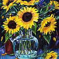 Jennifer Beaudet - Sunflower Bouquet