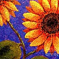 Annie Zeno - Sunflower Painting