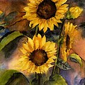Maria Hunt - Sunflowers for Cyndi