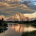 Ken Smith - Sunrise at Oxbow Bend 1...