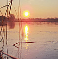 Yvon -aka- Yanieck  Mariani - Sunrise over frozen water