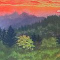 Denise  Cox - Sunset at Cowee