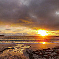 Anne Macdonald - Sunset At Meal Beach...