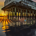 Susan Candelario - Sunset At The Pier
