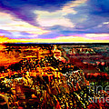 Nadine and Bob Johnston - Sunset In Grand Canyon