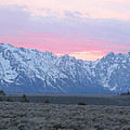 Shawn Hughes - Sunset in the Tetons II