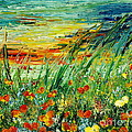 Teresa Wegrzyn - SUNSET MEADOW series