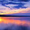 Paul Ge - Sunset On Cayuga Lake IV...