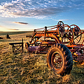 Dan Carmichael - Sunset on the Farm in...