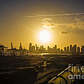 Rene Triay Photography - Sunset Over Miami and...