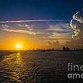 Rene Triay Photography - Sunset Over Miami from...