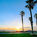 Artist and Photographer Laura Wrede - Sunset Over Santa Barbara