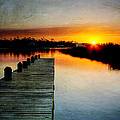 Joan McCool - Sunset Pier